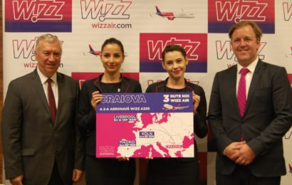 Wizz Air se extinde in Craiova