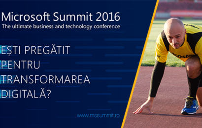 Ambasadorii transformării digitale pe scena Microsoft Summit 2016