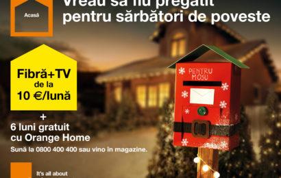 Orange lanseaza o noua oferta de iarna, pentru sarbatori de poveste