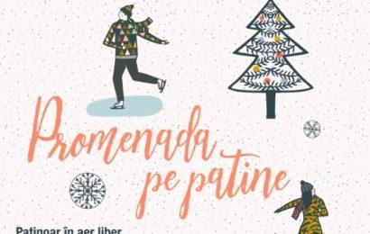 Promenada: Sezonul de iarnă începe cu redeschiderea singurului patinoar la înălțime