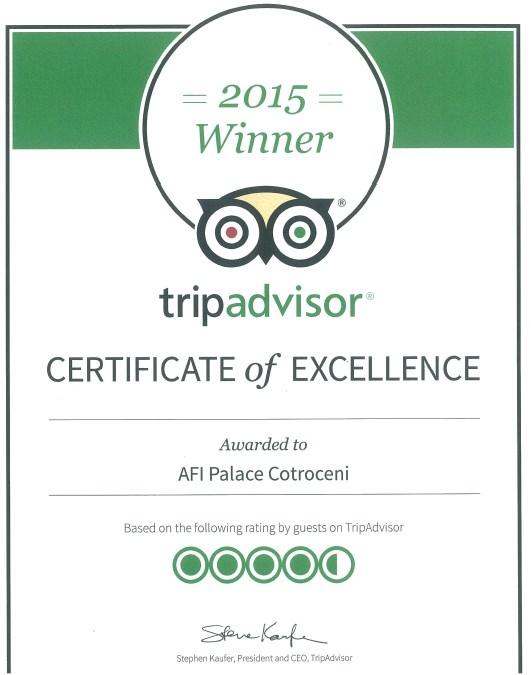 tripadvisor_certificate-of-excellence_afi-palace-cotroceni-2015