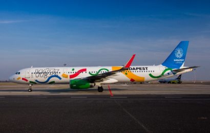 Wizz Air a prezentat aeronava cu grafica dedicata promovarii orasului Budapesta