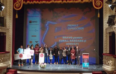 Publicul și juriul au decis marii câștigători la Premiile Superscrieri 2016