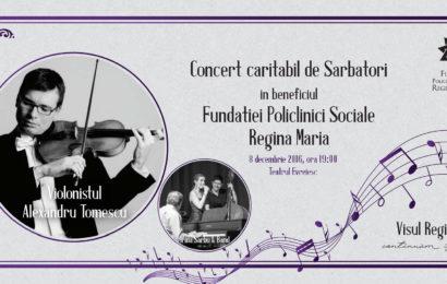 Concert caritabil de Sarbatori in beneficiul a 150 de copii