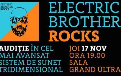Noul proiect Electric Brother, ROCKS, se lansează pe 17 noiembrie