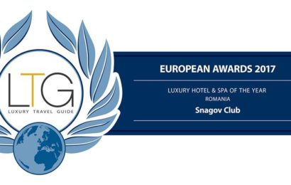Hotel Snagov Club, premiat in cadrul Luxury Travel Guide