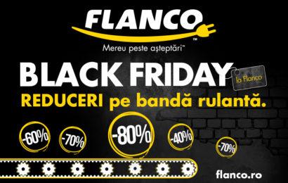 Black Friday: Flanco pregătește reduceri de până la 80% la peste 1000 de produse