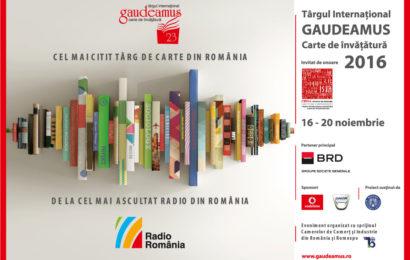 Număr record: peste 850 de evenimente la Gaudeamus 2016