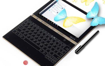 Lenovo lansează pe piața din România Yoga Book
