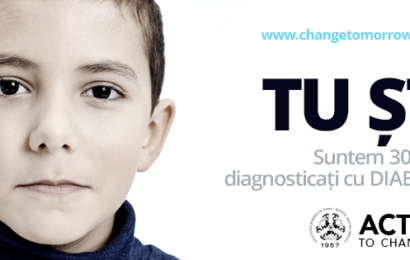 """Societatea Română de Diabet, Nutriţie si Boli Metabolice: """"Act Today to Change Tomorrow"""""""