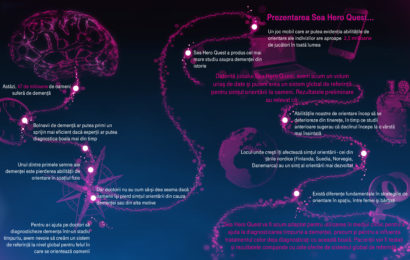 Jocul Sea Hero Quest dezvoltat de Deutsche Telekom stabileşte noi standarde în cercetarea în domeniul demenţei