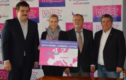 Wizz Air a demarat operațiunile pe aeroportul din Satu Mare