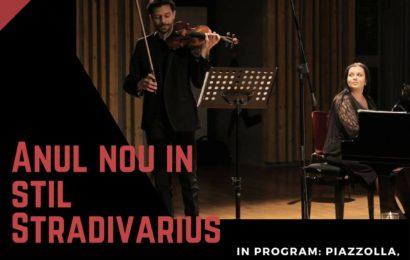 "Concert Extraordinar de Anul Nou : ""Anul Nou in stil STRADIVARIUS"""