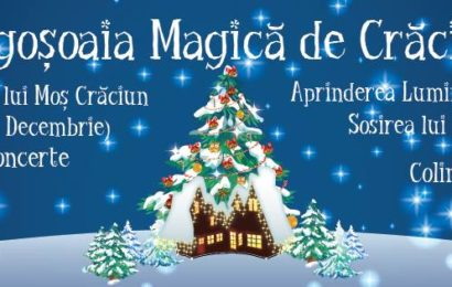 Se deschide Ambasada lui Moș Crăciun, in Parcul Mogoșoaia