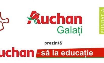 Auchan-sa la educatie: 150 de calculatoare au fost donate catre 26 de proiecte educationale