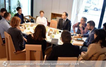100 de specialiști și studenți români  au participat la Săptămâna Sustenabilităţii EFdeN