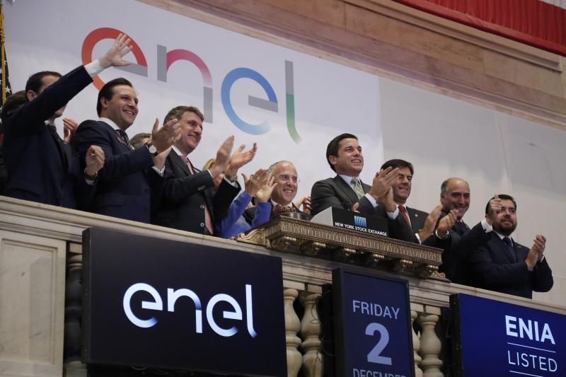 Acțiunile Enel Americas au debutat la tranzacționare pe bursa din New York