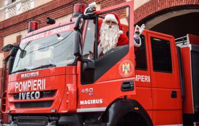 Peste 4.000 de pompieri au fost la datorie de Craciun