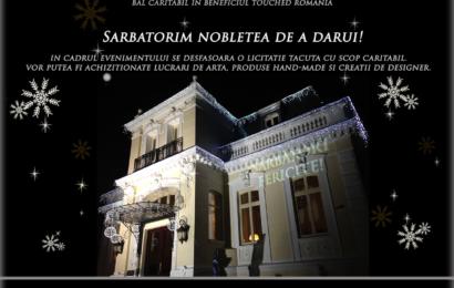 Asociația Touched România, beneficiar al evenimentului caritabil Noblesse Christmas Ball