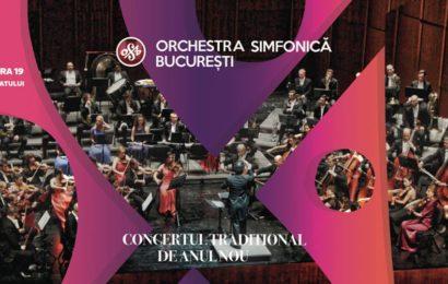 Concertul Traditional de Anul Nou: Orchestra Simfonica Bucuresti , la Sala Palatului