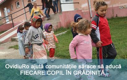 """Programul """"Fiecare Copil in Gradinita"""", premiat la nivel european"""