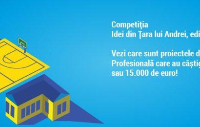 Idei din Țara lui Andrei: Finanțări în valoare de 150.000 euro pentru 13 proiecte
