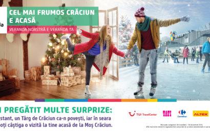 """Veranda Mall: """"Cel mai frumos Crăciun este acasă"""""""