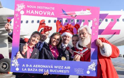 Cea de-a noua aeronava se alatura flotei Wizz Air din Bucuresti