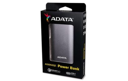 ADATA Technology anunță lansarea power bank-ului A10050QC