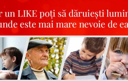"""E.ON Romania a dat startul unei noi editii a campaniei """"Daruieste Lumina Craciunului"""""""
