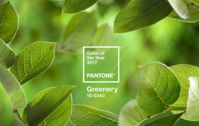 Tendinte si culori make-up in 2017: Greenery, vedeta anului