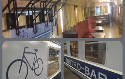 CFR lanseaza Vagonul Bistro-Bicicleta-Schi, noul vagon dedicat transportului de biciclete
