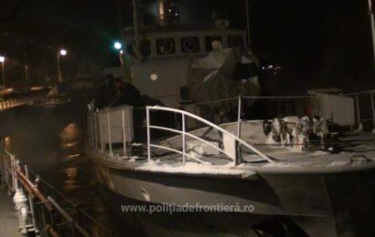 Poliţia de Frontieră: Nava MAI 1102 va supraveghea frontierele Europei din Marea Egee