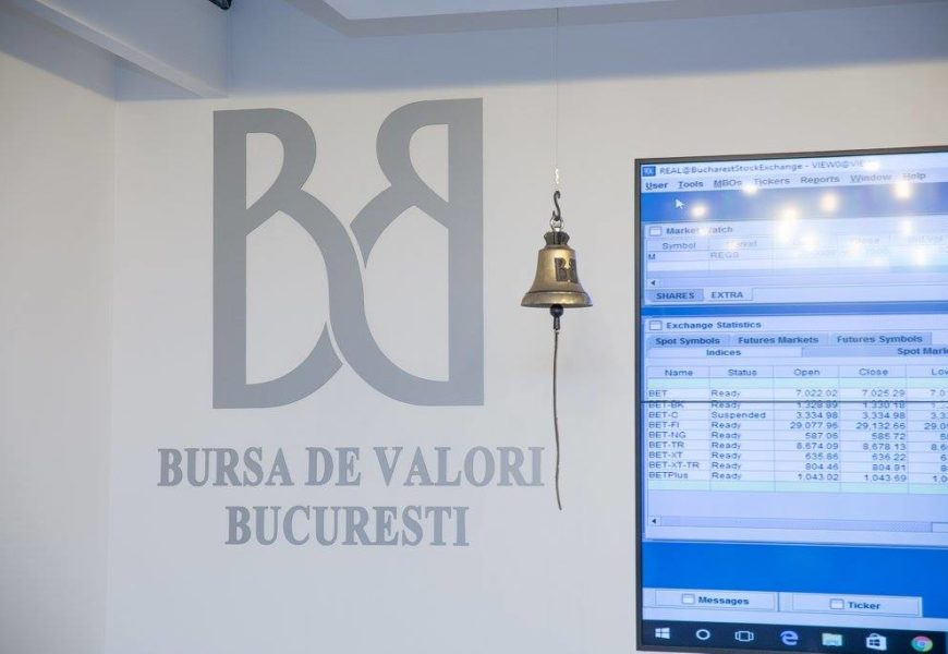 Bursa de Valori Bucuresti, in topul cresterilor din Europa