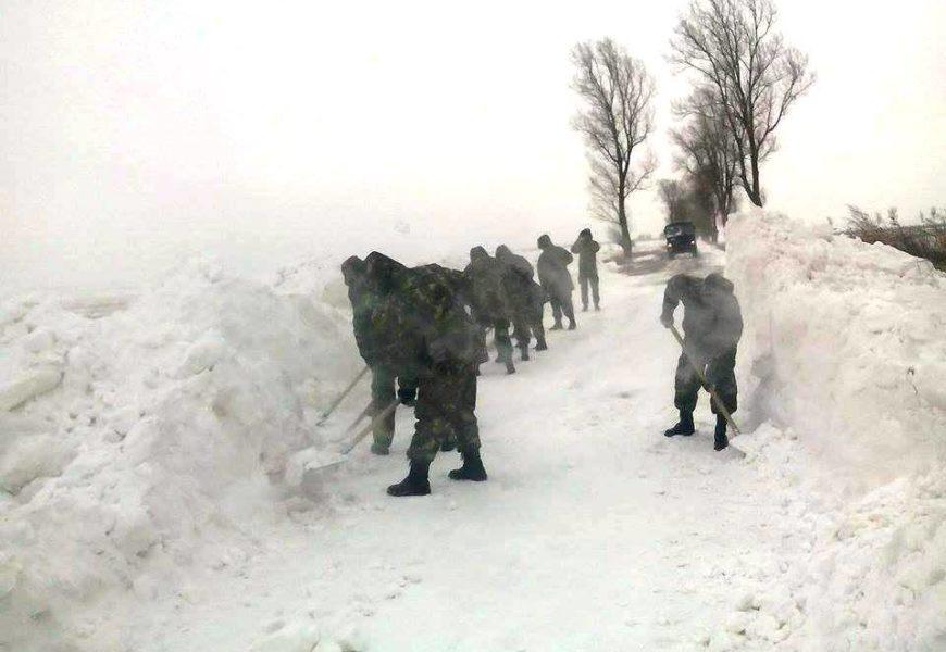 200 de militari au intervenit pentru ajutarea populației din județele Constanța și Brăila