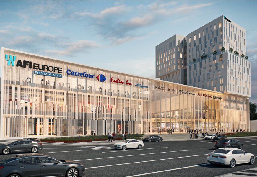 Afi Brasov: Carrefour va ocupa peste 6.500 metri patrati la parterul mallului