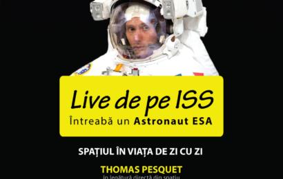 Elevii si profesorii din Timisoara, in legatura video cu Statia Spatiala Internationala