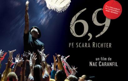 """Peste 12.000 de spectatori la comedia """"6,9 pe scara Richter"""""""
