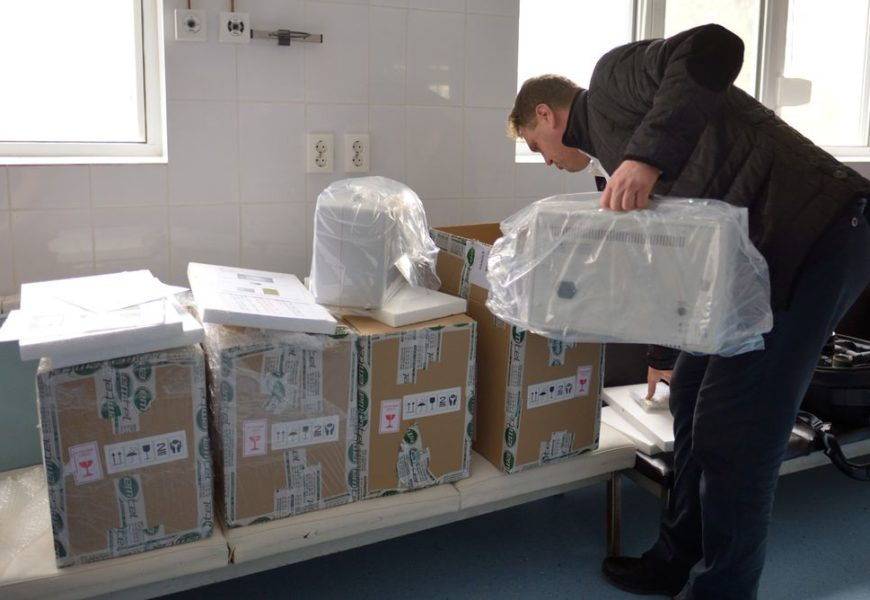 ArcelorMittal Galati a donat echipamente medicale Spitalului din Galati