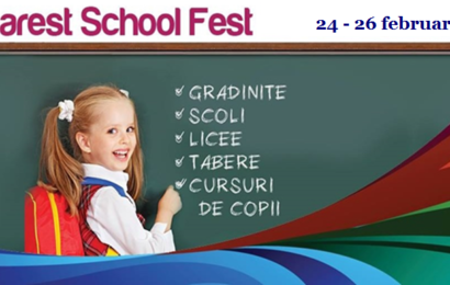 Bucharest School Fest isi deschide portile in Baneasa Shopping City