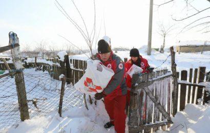 Crucea Roșie Română și Canon România ajută persoanele afectate de ger și înzăpeziri, din județele Constanța și Tulcea