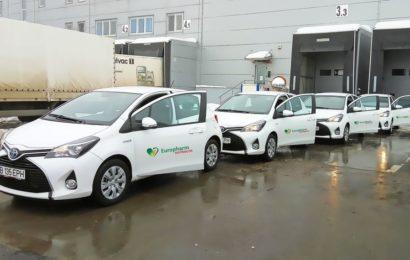Europharm Distributie isi schimba masinile vechi cu vehicule hibride