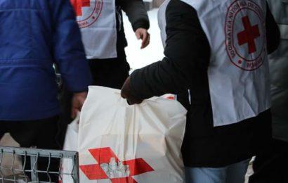 Crucea Roşie Română sprijină persoanele nevoiaşe din Bucureşti