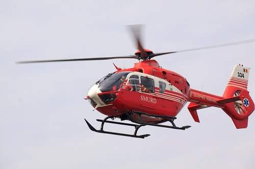 SMURD Constanta primeste un nou elicopter, pentru transportul pacientilor in stare grava
