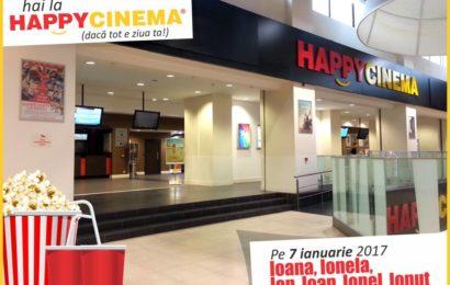 Film gratuit la HAPPYCINEMA pentru Ion și Ioana pe 7 ianuarie