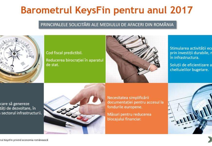 Analiză KeysFin: Economia României frânează în 2017