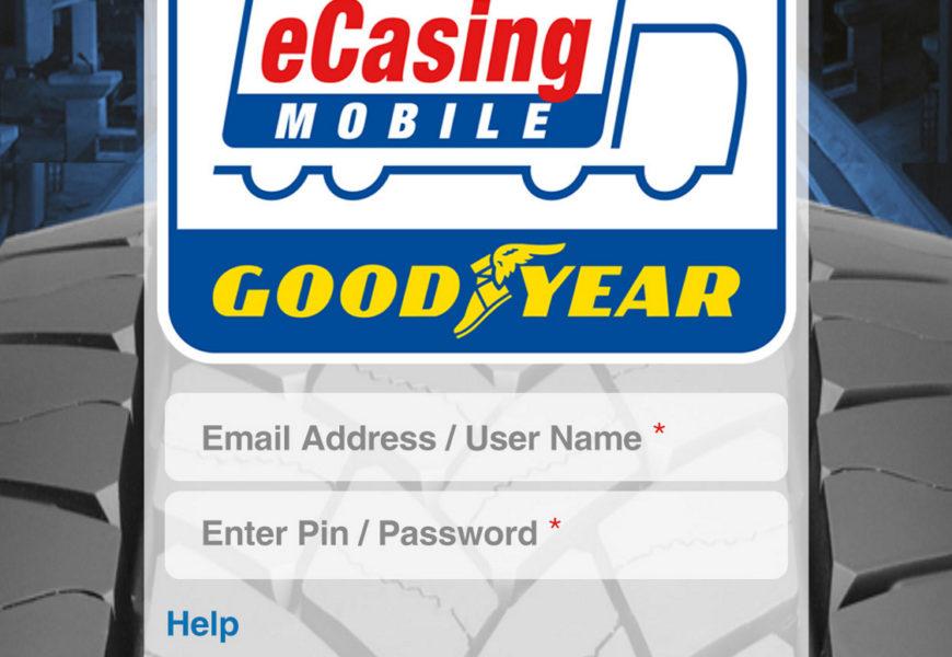 Goodyear introduce aplicația eCasing Mobile, pentru reșapare imbunatatita
