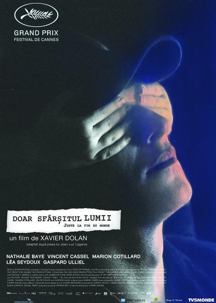 """""""Doar sfârșitul lumii """", cu Marion Cotillard și Vincent Cassel- pe shortlist la Oscar"""