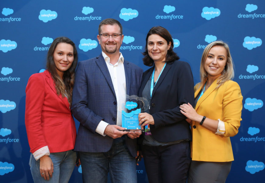 "OSF Global Services: Premiul ""Salesforce Partner Innovation"""