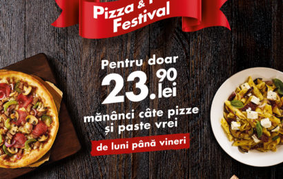 Pizza Hut relansează promoția Pizza & Pasta Festival
